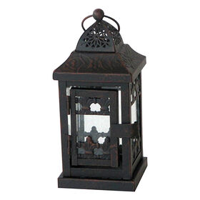 Picture of Black Square Lantern - 3 x 7-in