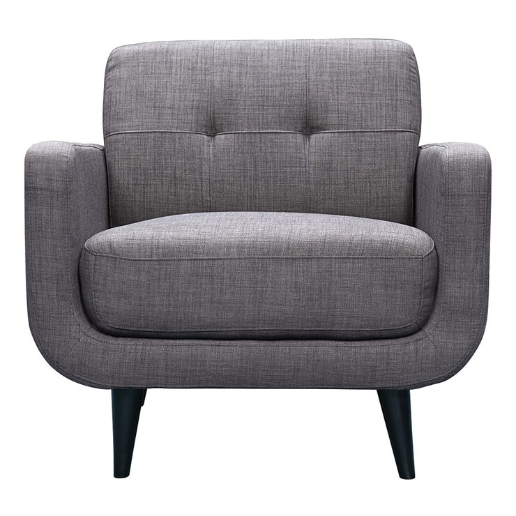 Hadley Chair Heirloom Charcoal Gray At Home