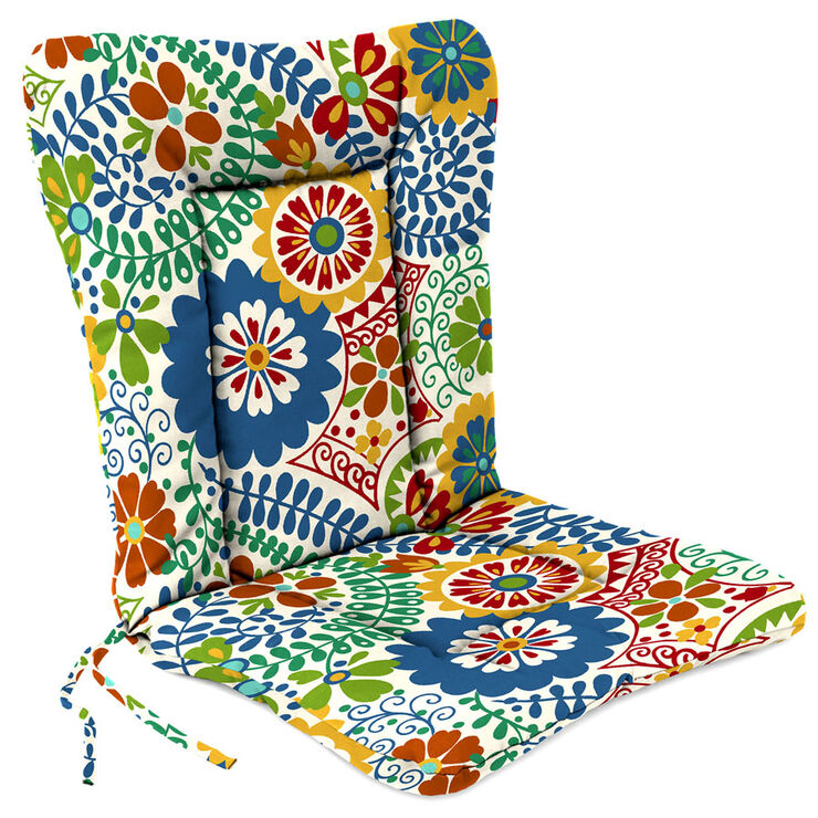 Luxury multi color hinged patio cushion at home - Hinged outdoor cushions ...