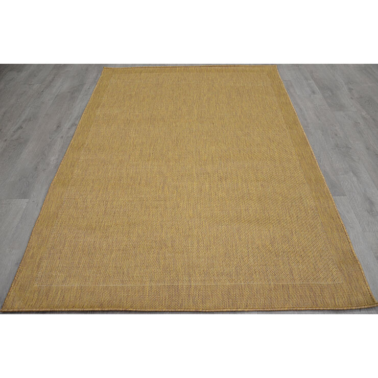 Brown Outdoor Miami Sisal Rug 5 X 7 ft