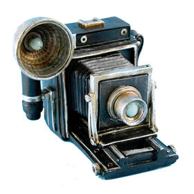 Picture of Antique Camera Tabletop Decor-  6 x 5-in