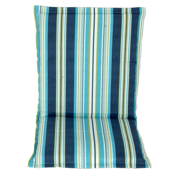 Connely iris hinged blue patio cushion at home - Hinged outdoor cushions ...