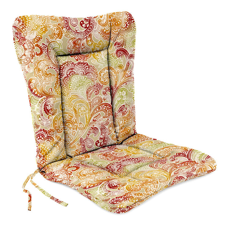 Boca sunset hinged patio cushion at home - Hinged outdoor cushions ...