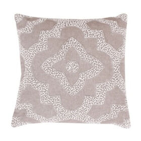 Katia Pearl Pillow- Taupe 14-in