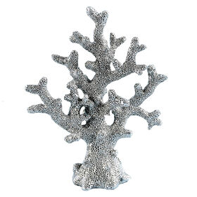 Picture of Antique Silver Coral Figurine