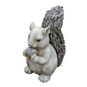 Picture of Resin Squirrel Garden Statue 12-in
