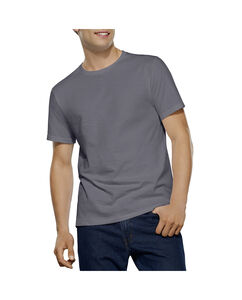 Men's 2 Pack Tall Man Black/Grey Crew