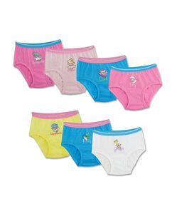 Toddler Girls' 7 Pack Theme Pack