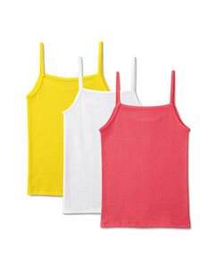 Girls' 3 Pack Assorted Cami