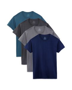 Men's 4 Pack Assorted Color Crews