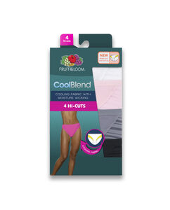 Women's 4 Pack CoolBlend Hi Cut
