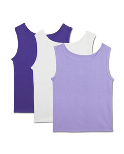 Toddler Girls' 3 Pack Assorted Tank