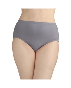 Fit for Me by Fruit of the Loom Women's 5 Pack Breathable Cotton-Mesh Brief
