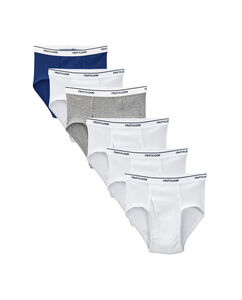 Boys' 6 Pack Assorted Color Brief
