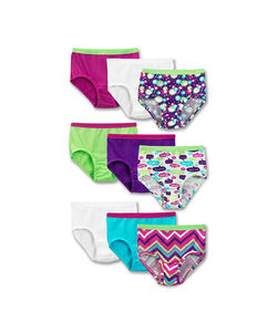 Girls' 9 Pack Assorted Brief