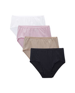 Women's 4 Pack Flexible Fit MidRise Brief
