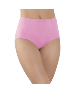 Women's 6 Pack Comfort Covered Cotton Brief
