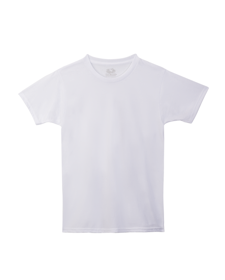 Boys' 5 Pack White Crew T-Shirt White
