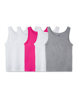 Girls' 5 Pack Assorted Cami Assorted Print and Color