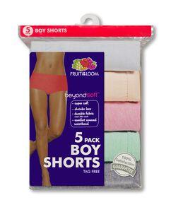 Women's 6 Pack beyondsoft Boy Short