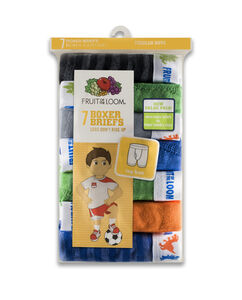 Toddler Boys' 7 Pack Assorted Boxer Brief