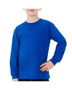 Boys' Long Sleeve Crew Tee