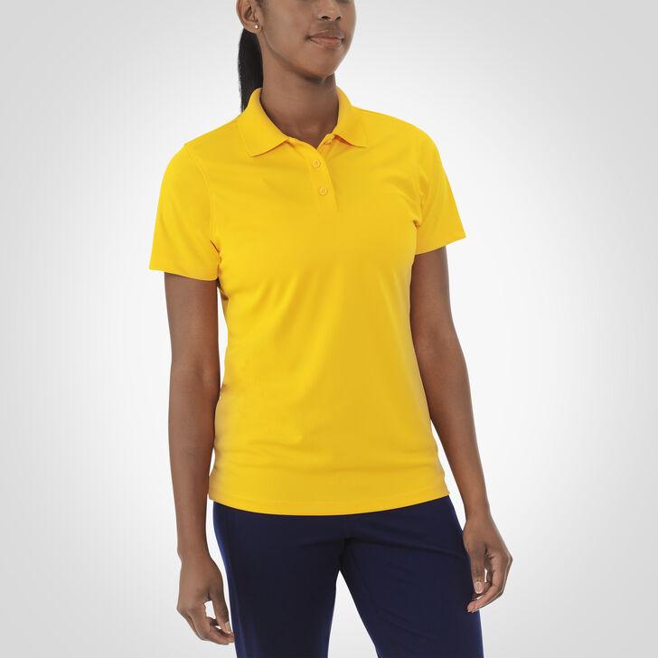 Women's Dri-Power® Short Sleeve Essential Polo GOLD