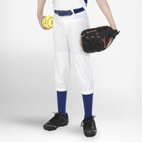 Youth Knicker Softball Pants WHITE