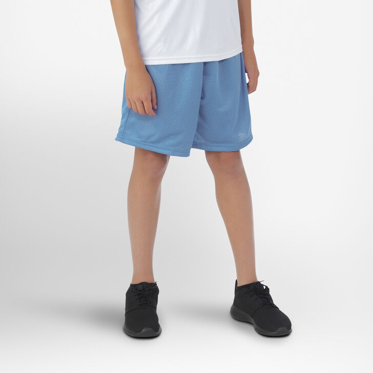 Youth Dri-Power® Mesh Shorts COLUMBIA BLUE