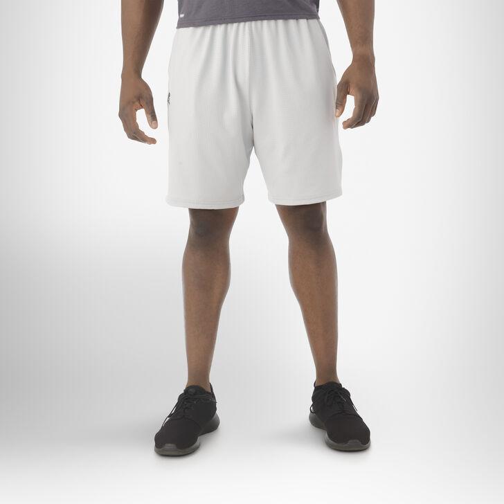 Men's Dri-Power® Coach's Shorts GRIDIRON SILVER