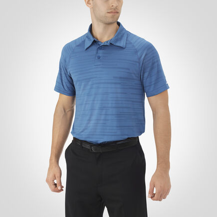 Men's Dri-Power® Striated Polo BLUE ASHES