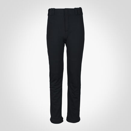 Youth Bootcut Baseball Pants BLACK