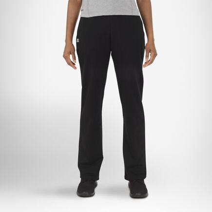 Women's Fleece Sweatpants BLACK