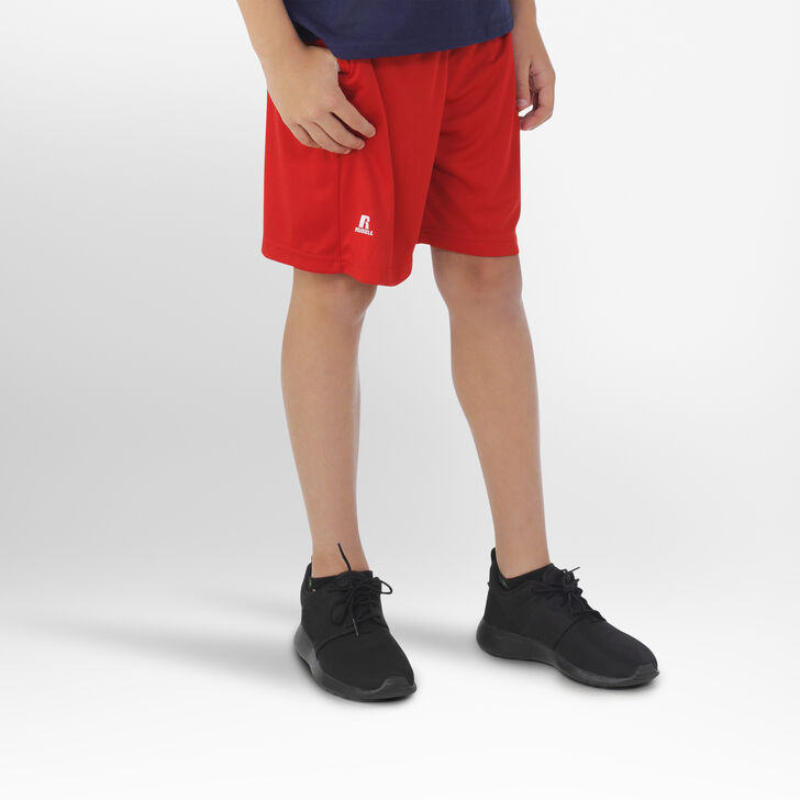 Youth Dri-Power® Essential Performance Shorts with Pockets TRUE RED