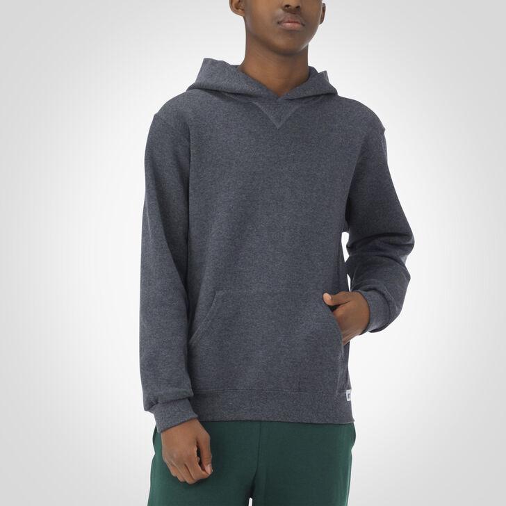 Youth Dri-Power® Fleece Hoodie BLACK HEATHER