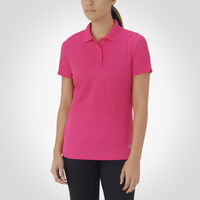 Women's Dri-Power® Short Sleeve Essential Polo WATERMELON PINK