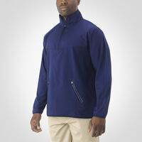 Men's Woven 1/4 Zip Pullover NAVY