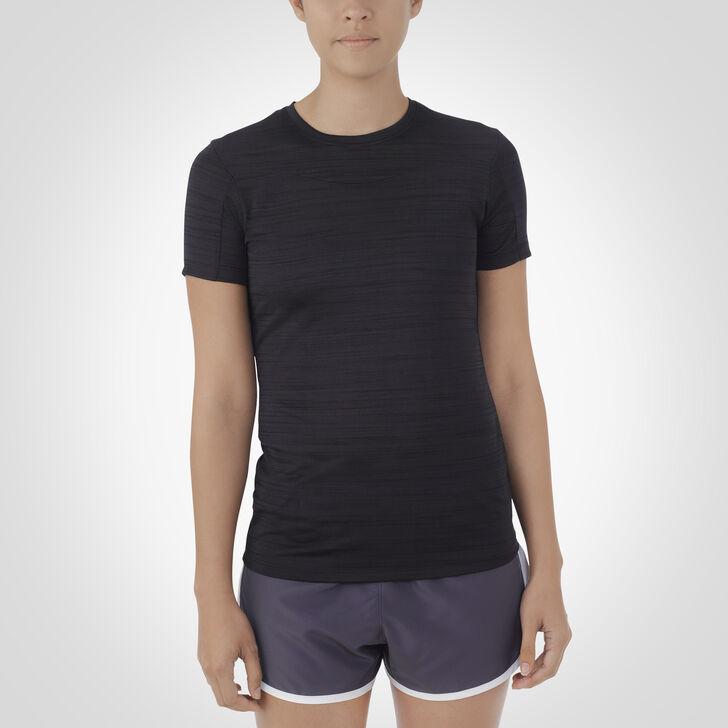 Women's Dri-Power® Fashion Performance Tee BLACK