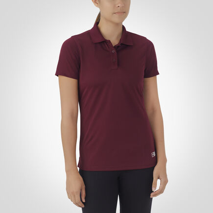 Women's Dri-Power® Short Sleeve Essential Polo MAROON