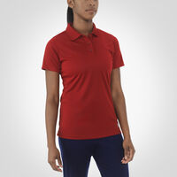 Women's Dri-Power® Short Sleeve Essential Polo CARDINAL