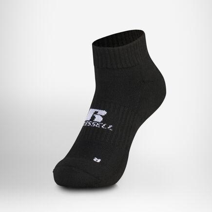 Quarter Socks BLACK/WHITE