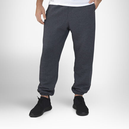 Men's Dri-Power® Closed-Bottom Pocket Sweatpants BLACK HEATHER