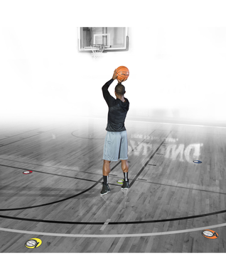 NBA TRAINING AID - SHOOTING SPOTS