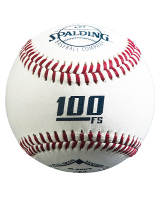 FLAT SEAM 100 OFFICIAL LEAGUE TOURNAMENT BASEBALL - 12 PACK