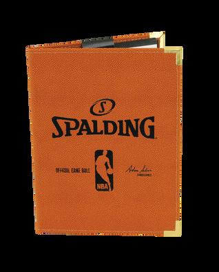 ORANGE NBA PAD HOLDER
