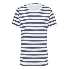 STRIPE AND SPOT T-SHIRT