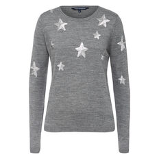 SEQUIN STAR KNIT