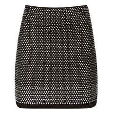 DIAMOND ROCK JERSEY SKIRT