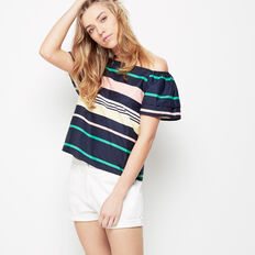LOLLY BAGS OFF SHOULDER SLEEVE TOP