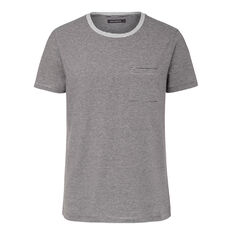 COLLECTED STRIPES CREW NECK T-SHIRT